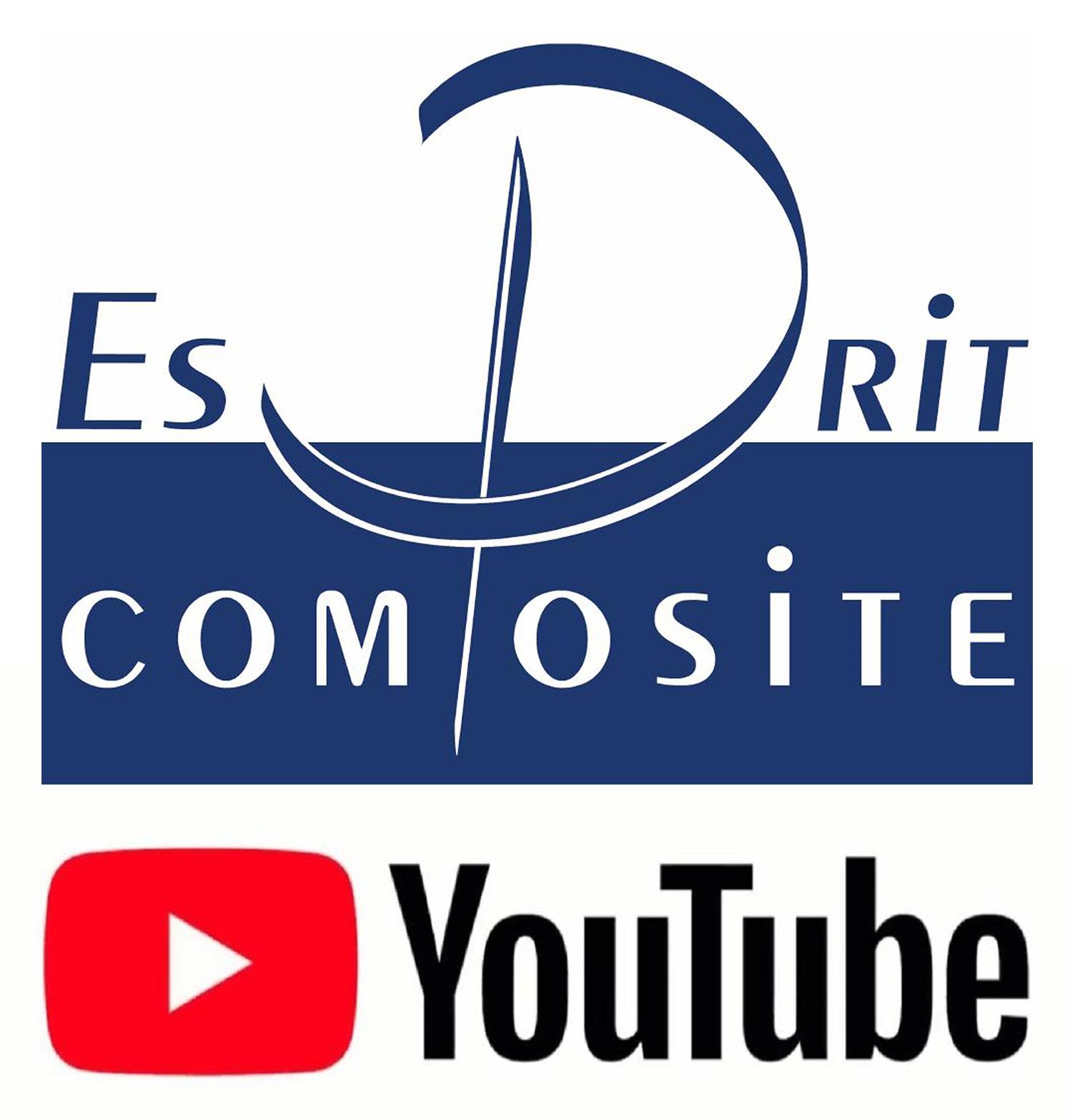 Logo esprit composite chaine youtube